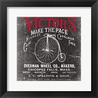 Framed Antique Bicycle I
