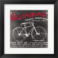 Framed Antique Bicycle II