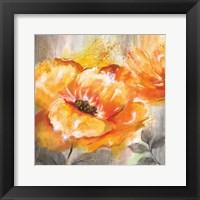 Orange Crush I Framed Print