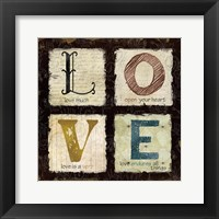 Love Much Framed Print