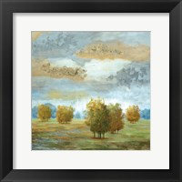 Lush Meadow II Framed Print