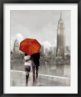 Framed Modern Couple in New York