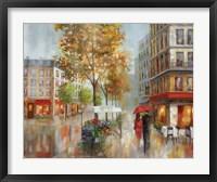 Romantic Promenade I Framed Print