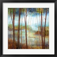 Soft Forest II Framed Print