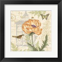 Floral Nature Trail I Framed Print