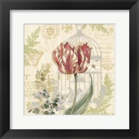 Floral Nature Trail II Framed Print