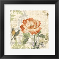 Floral Nature Trail III Framed Print