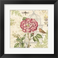 Floral Nature Trail IV Framed Print