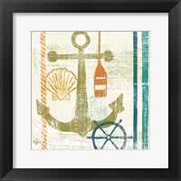 Nautical Brights I Framed Print