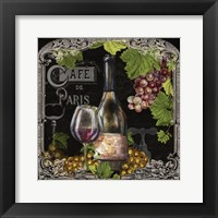 Cafe de Vins Wine II Framed Print