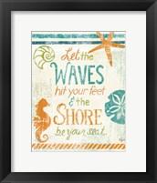 Coastal Sentiment II Framed Print