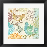 Bird Chirp II Framed Print