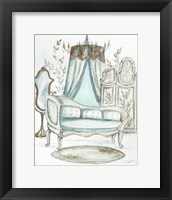 French Dressing Room II Framed Print