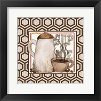 Modern Coffee I Framed Print