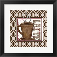 Modern Coffee II Framed Print