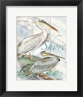 Shore Birds I Framed Print