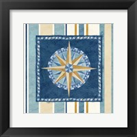Nautical Stripe I Framed Print