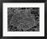 Framed Environs Paris Black 2