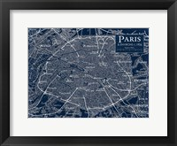 Framed Environs  Paris 3