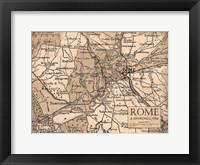 Framed Environs Rome Beige