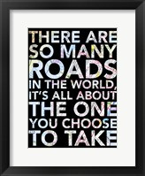 You Choose Framed Print