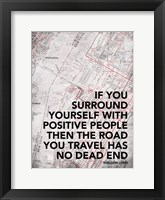 Positive People Framed Print