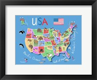Framed USA