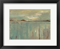 Framed Seafoam Horizon
