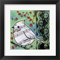 Framed Bird Song 2