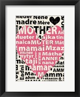 Framed Mother Languages 1