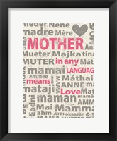Framed Mother Languages 2