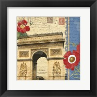 Arch De Triomphe Framed Print