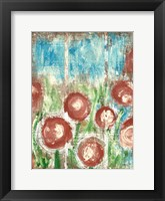 Framed Sunrise Bloom 1