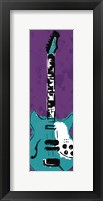 Framed Electric Guitar