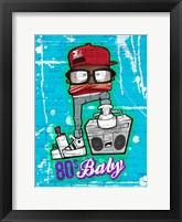 Framed 80s Baby