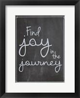 Framed Find Joy In Journey