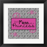 Princess 2 Framed Print