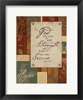 Hope 1 Framed Print