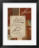 Love Inspirational 1 Framed Print