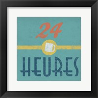 24 Heures Coffee Framed Print
