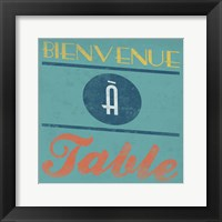 Enjoy French Framed Print