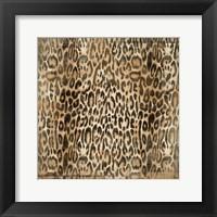 Leopard Print Framed Print