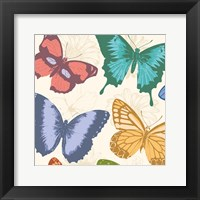 Colorful Butterflies Framed Print