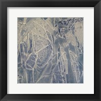 Framed Grey Abstract A