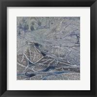 Framed Grey Abstract B