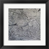 Framed Grey Abstract C
