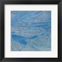 Framed Blue Abstract D