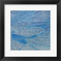Framed Blue Abstract D