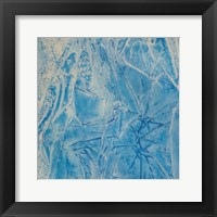 Framed Blue Abstract E