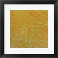 Framed Yellow Abstract A